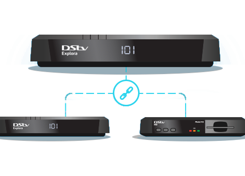 DSTV 3 X Extra View decoders Cape Installations